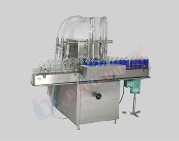 Automatic Four Head Liquid Filling Machine Manufacturer In India